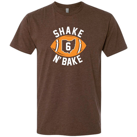 Cleveland Shake N' Bake Men's/Unisex Cotton/Poly Short Sleeve T-Shirt