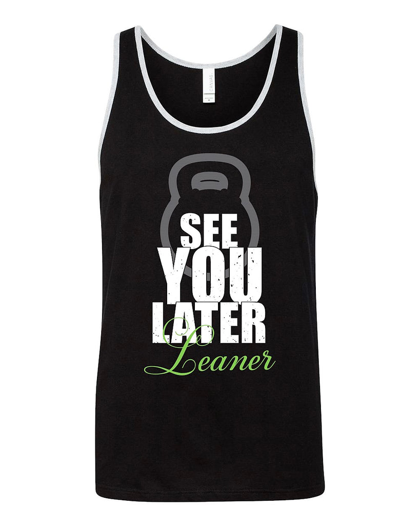 See You Later Leaner Men's Tank