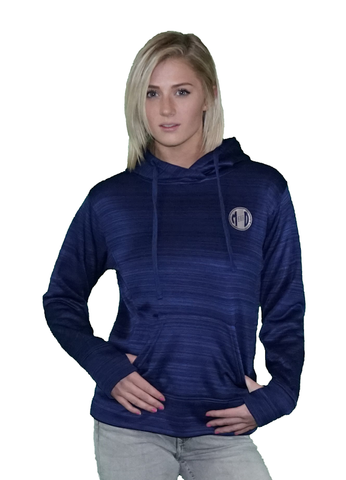 MD Logo Women's Performance Fleece Lapover Hooded Sweatshirt