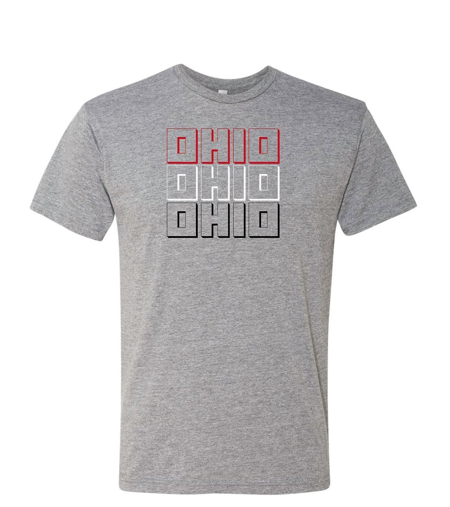 L3 - Triple Ohio Men's Triblend T-Shirt