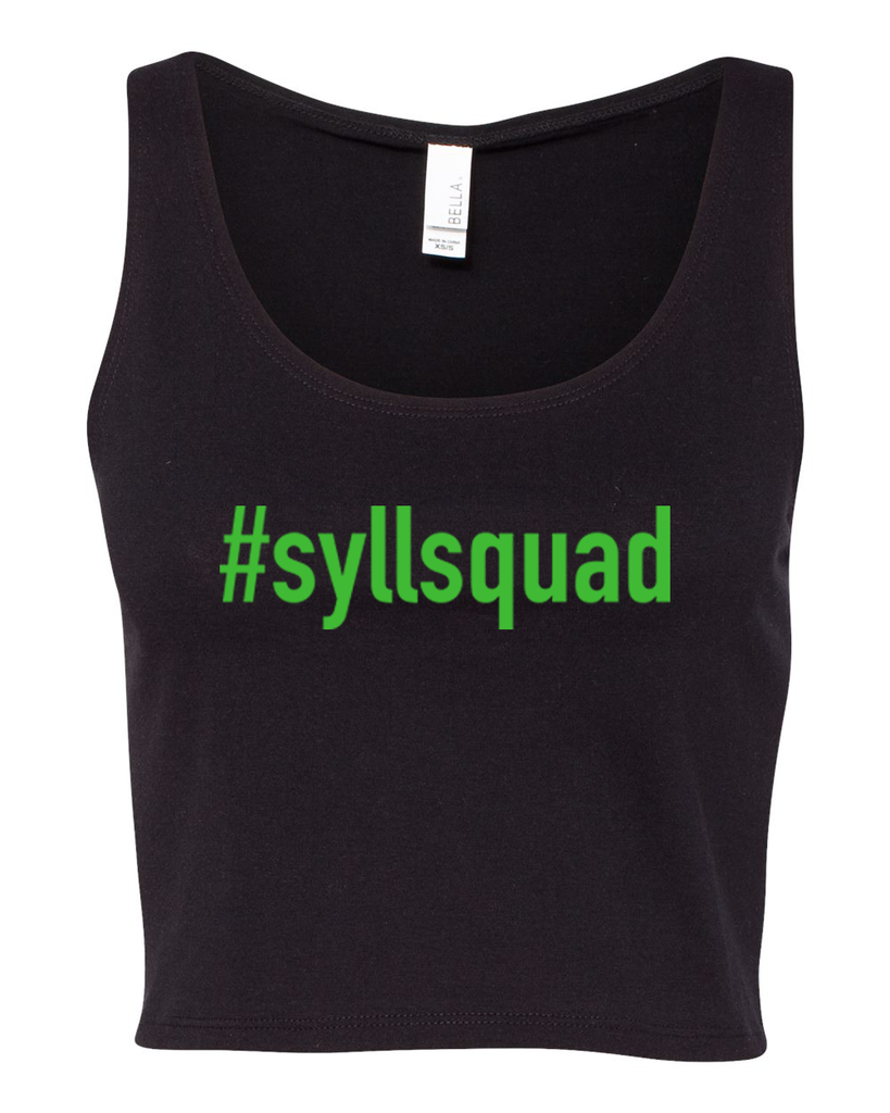 #syllsquad Crop Tank