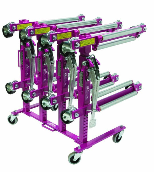 Go Jak Storage Rack, Holds Four Pairs - Houghton Tools
