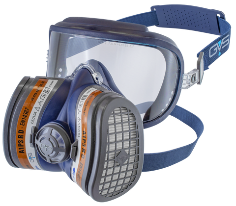 Elipse Integra Half Mask With Visor, A1P2 R D, Size S/M - Houghton Tools