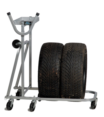 FMT1239 Tyre Storage Trolley Takes 4 Tyres - Houghton Tools