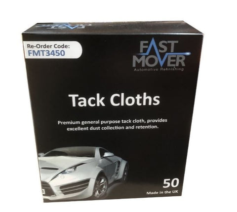 FMT3450 Fast Mover Tack Cloths 50pk - Houghton Tools