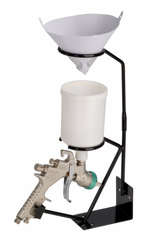 Fast Mover Tools, Bench Mounted Spray Gun Holder With Filter Cradle - Houghton Tools