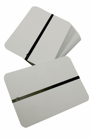 Aluminium Spray Out Cards Pack Of 100pcs - FMT7500