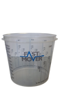 Plastic Paint Mixing Cups 1400ml Pack of 200 - FMT8514 - Houghton Tools