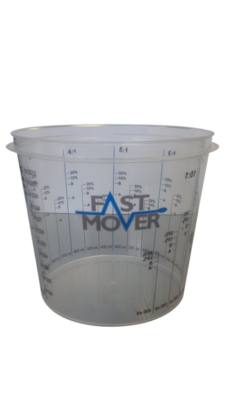 Plastic Paint Mixing Cups 1400ml Pack of 200 - FMT8514
