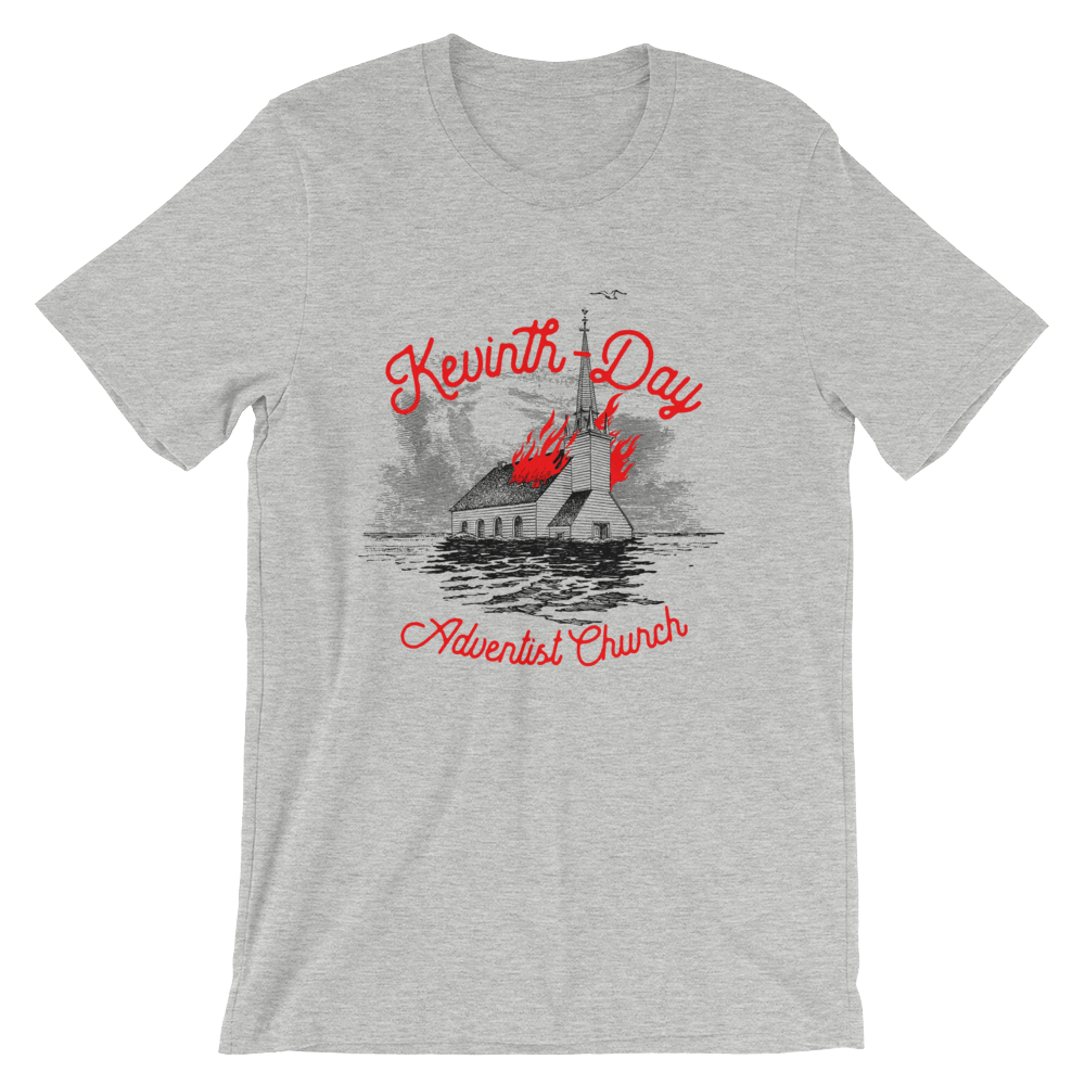 Kevinth-Day Adventist Heather Short Sleeve Unisex Tee