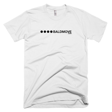 White Logo Short Sleeve Tee