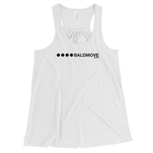 Bald Move Logo Women's Racerback Tank