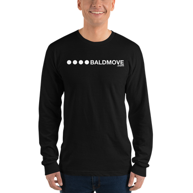 Bald Move Logo Long Sleeve Unisex Tee