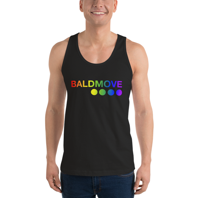 Bald Move Pride Unisex Tank Top