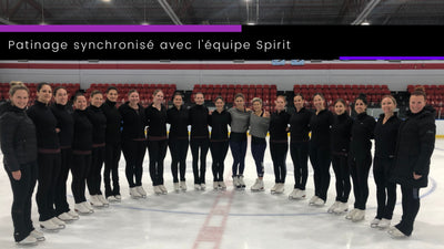 The Fabric of Sport ⎮ Synchronized skate with the Spirit team from the Club de patinage Nova