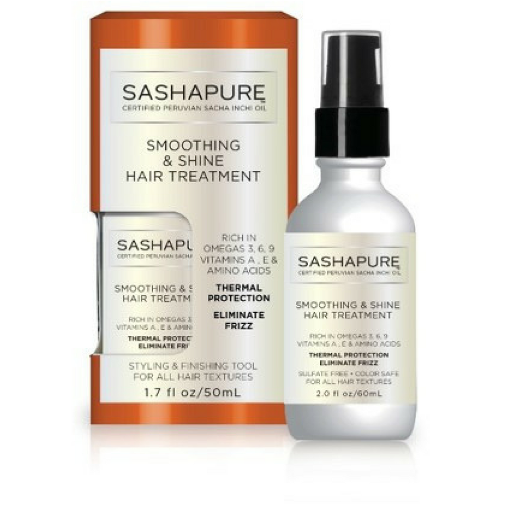 Fresh Glow brings you Smoothing & Shine Hair Treatment by SashaPure