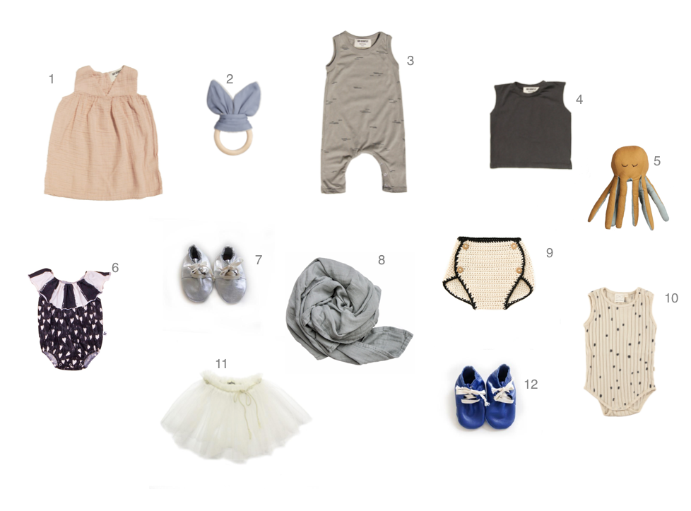 The June Shopping List for Baby: Getting Ready for L.A!