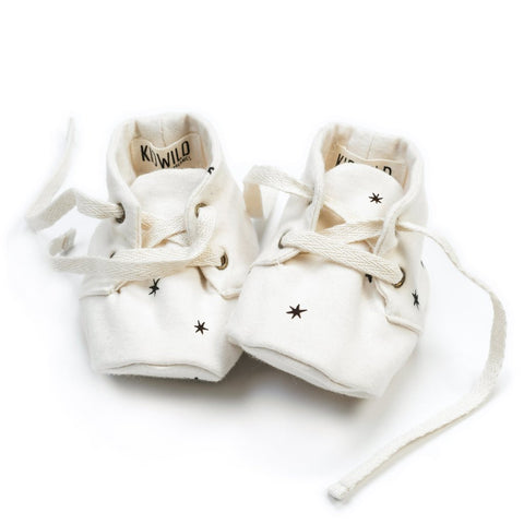 KidWild Organics Baby Booties in Star