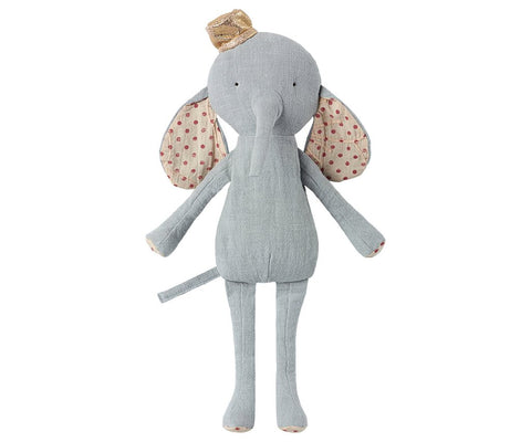 MAILEG CIRCUS ELEPHANT TOY IN BLUE