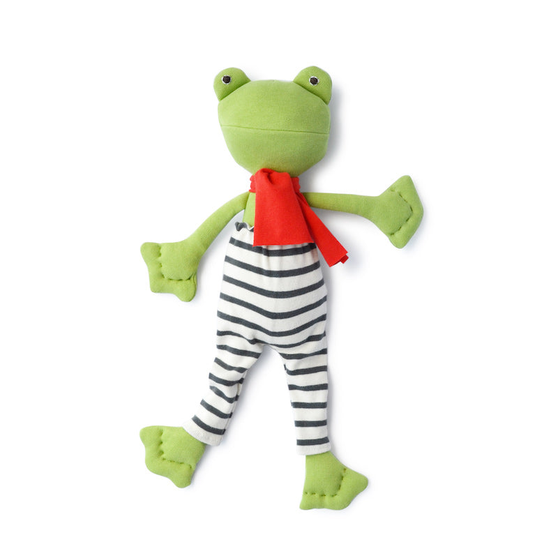 Hazel Village Lewis Toad in Explorer Leggings and Scarf
