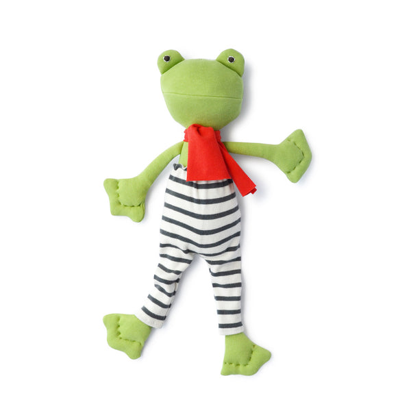 Lewis Toad in Explorer Leggings and Scarf