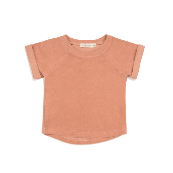 PHIL&PHAE BABY TERRY TOP
