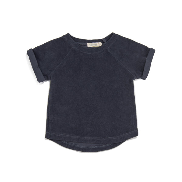PHIL&PHAE BABY TERRY TOP IN INDIGO