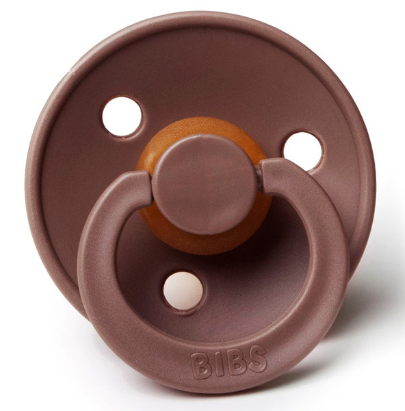 Bibs Pacifiers in Chestnut