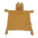 Fabelab FABELAB ANIMAL BABY CUDDLE BEAR - OCHRE - sugarloaf
