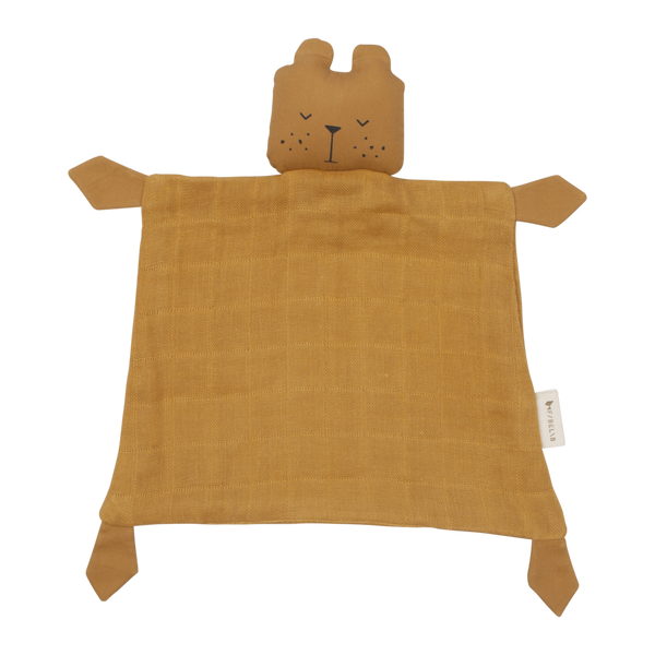 FABELAB ANIMAL BABY CUDDLE BEAR - OCHRE - sugarloaf