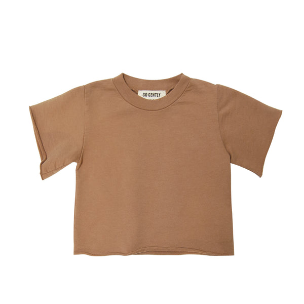 Go Gently Nation French Terry Tee in tanin