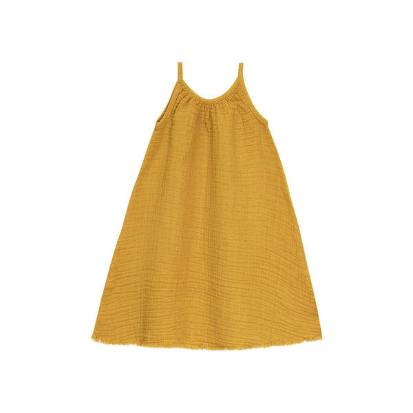 Go Gently Nation Golden Gauze Baby Sundress
