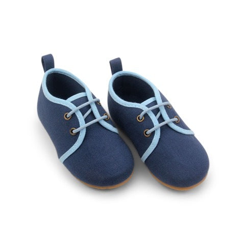 NAVY OXFORD SHOES - sugarloaf