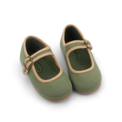 OLIVE MARY JANE SHOES