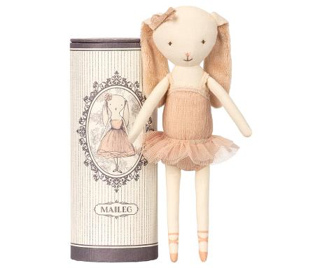 Maileg Dancing ballerina bunny in tube