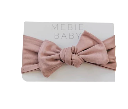 Mebie Baby Dusty Rose Baby Head Wrap
