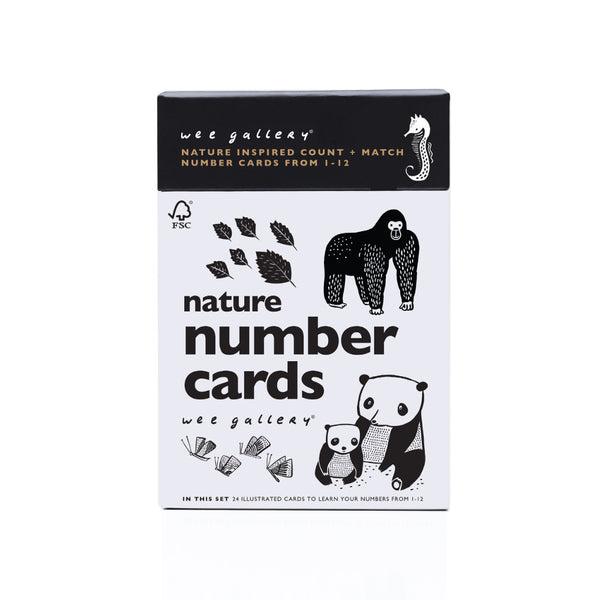 Nature Number Cards - sugarloaf