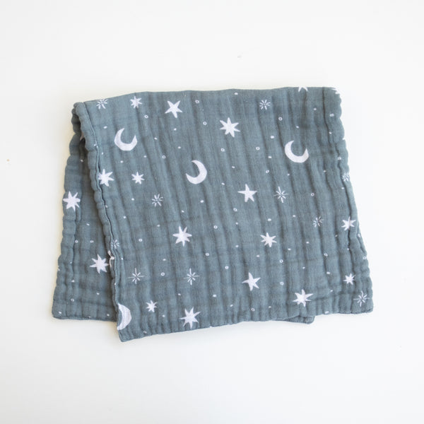 Mebie Baby Night Sky Burp Cloth