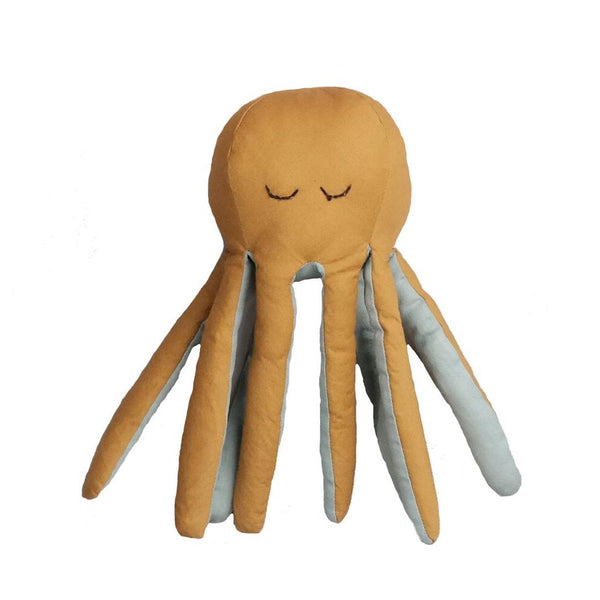 FABELAB OCTOPUS BABY RATTLE