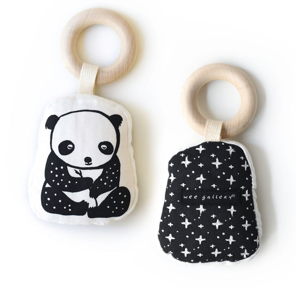 Wee Gallery Organic Teether - Panda