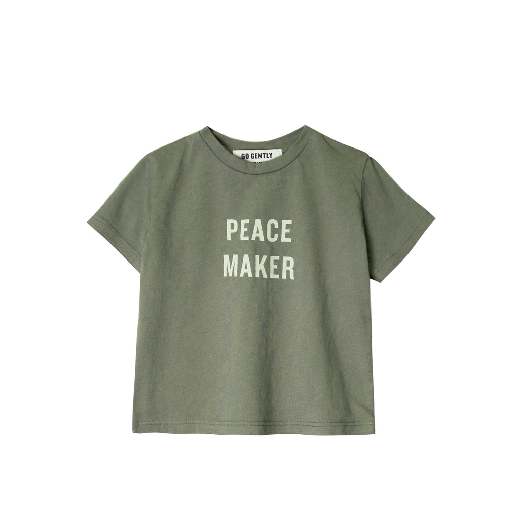GO GENTLY NATION Go Gently Nation Peacemaker Tee in thyme