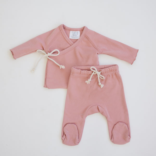 Mebie Baby Rose Layette Set