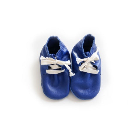 TREEHOUSE BY ANJA SCHWERBROCK SIMPA BABY SHOES IN BLUE - sugarloaf