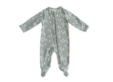 Mebie Baby Mebie Baby Pines Cotton Footed Zipper One-piece flat