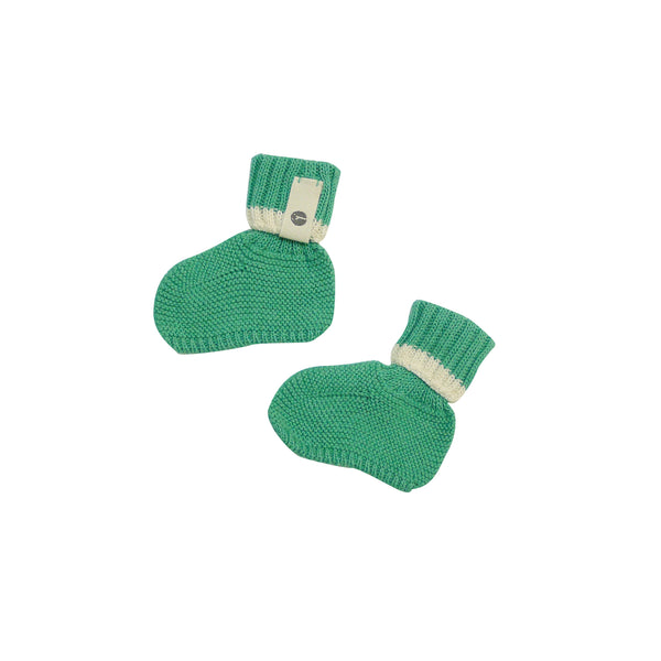 Bayiri Sierra Nevada Baby Booties in Green
