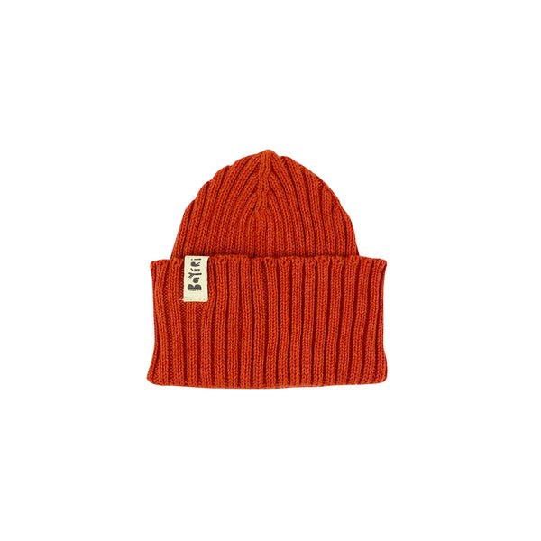 Bayiri Sloth Baby Beanie in Red