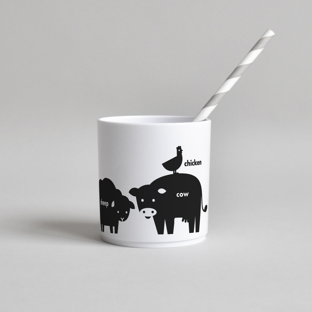 Buddy and Bear BUDDY AND BEAR BLACK FARM ANIMAL CUP