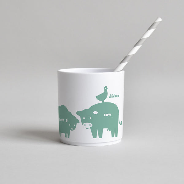 GREEN FARM ANIMAL CUP