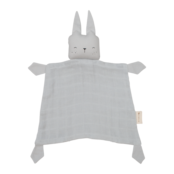 FABELAB ANIMAL CUDDLE BUNNY- ICY GREY - sugarloaf