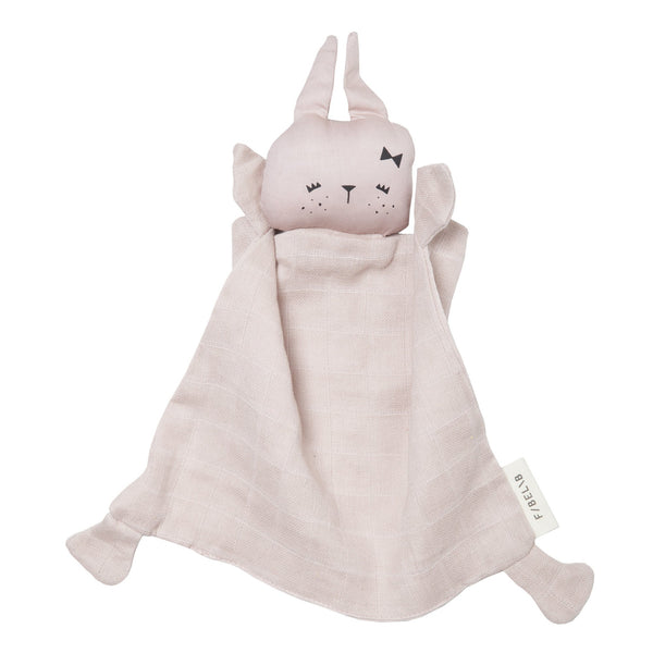FABELAB ANIMAL CUDDLE BUNNY- MAUVE - sugarloaf